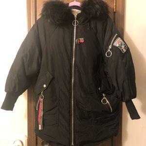 Jackets & Blazers - Down Jacket. Very warm and pretty!